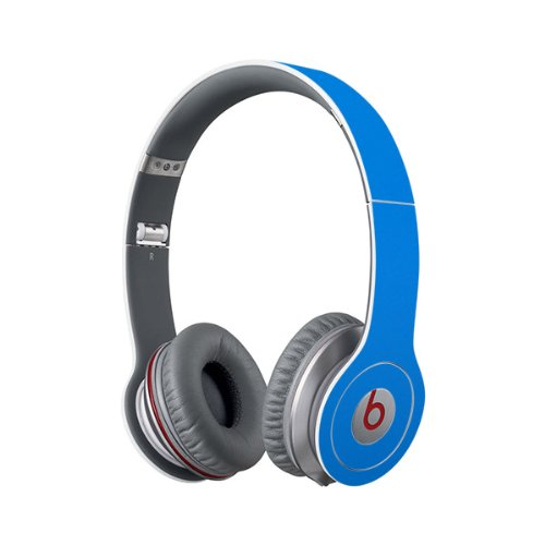Beats Solo Full Headphone Wrap In Blue (Headphones Not Included)