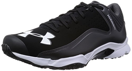 [Under armour] UNDER ARMOUR UA yard LOW trainers WIDE 1258051 BLK/CGY (black / charcoal grey /27.5)
