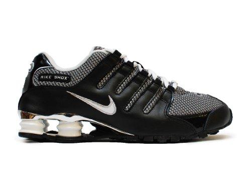 Nike Shox NZ EU Schuhe black-metallic silver - 45