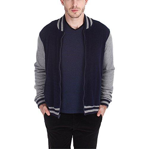 Zobello Men's Jacket (51001A_Dark Navy _X-Small)