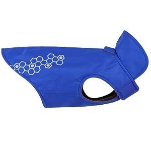 RC Pet Products Venture Outerwear Dog Rain Coat, Size 12, Electric Blue