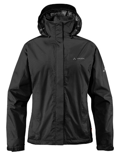 VAUDE Damen Jacke Escape Light Jacket, black, 38, 03895 -