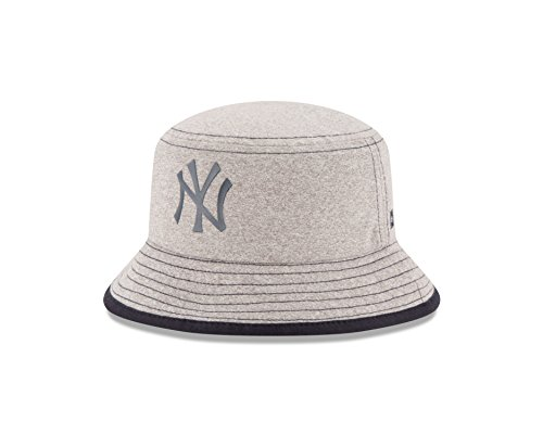 MLB New York Yankees Kids Heather Tot Bucket Hat, Infant, Gray (Kids Yankee Hat compare prices)
