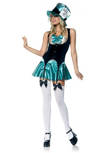 Sexy Mad Hatter Costume Sexy Tea Party Dress 53004