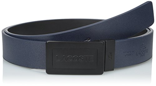 Lacoste Men's Reversible Plaque Belt Navy/Black 43 (Lacoste Belts compare prices)