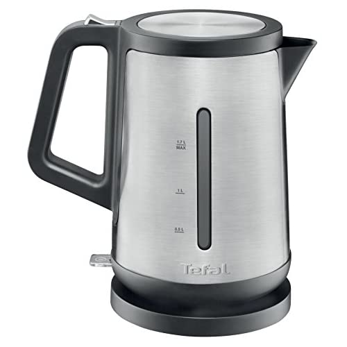 Tefal Prelude Stainless Steel Kettle, 1.7 Litre, 3000 W, Silver