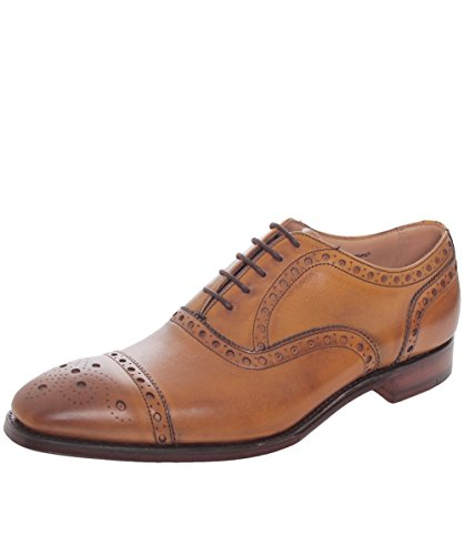 Cheaney and Sons Scarpe stringate in pelle Maidstone 41.5 Castagno
