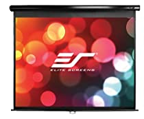 "Elite Screens 120 Inch 4:3 Manual Pull Down Projection Screen (72""Hx96""W)"