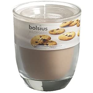 Bolsius Aromatic Glass Jar Candle - Baked Cookies