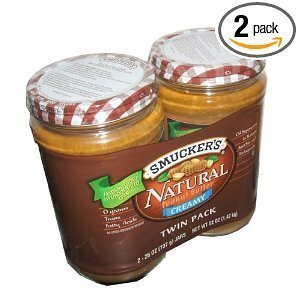 smuckers-natural-creamy-peanut-butter-non-hydrogenated-healthy-snack-26-ounce-jars-pack-of-2-by-smuc