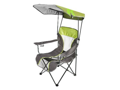 Kelsyus Premium Canopy Chair, Lime Green front-652997
