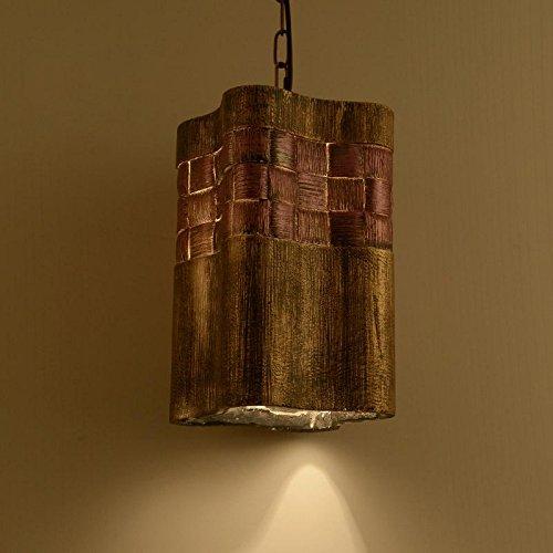 llyy hand geschnitzt harz anh nger vintage kreativen loft caf kronleuchter lichtplanung. Black Bedroom Furniture Sets. Home Design Ideas