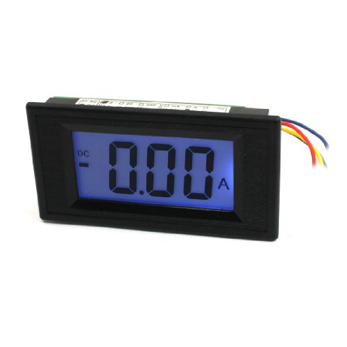 Blue Lcd Display 3-Digits Dc 0-2V Digital Panel Voltmeter