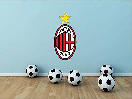A.C. Milan, Italia di calcio FC-Adesivo vinilico da parete