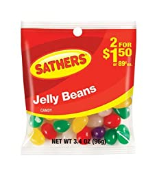 Farley\'s & Sathers Candy, Jelly Beans, 3.4 Ounce (Pack of 12)