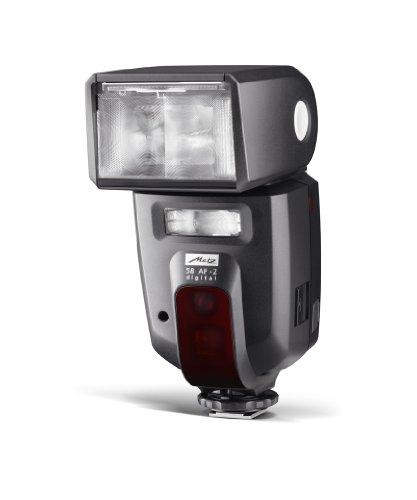 Metz Mecablitz 58 AF-2 Digital Flash per Nikon, Modo i-TTL/D-TTL/3D, Aggiornabile via USB, Nero