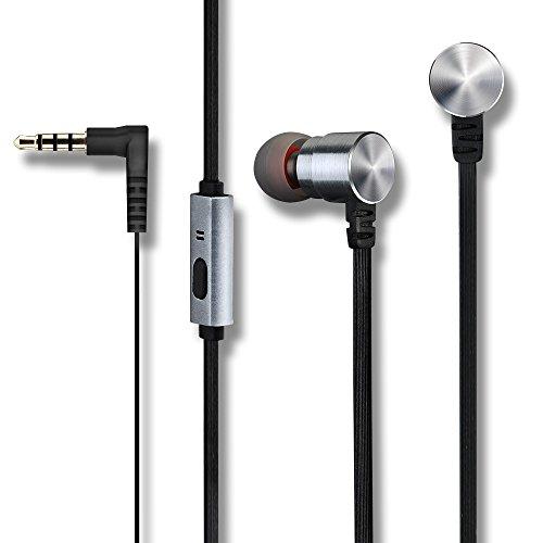 Mpow Kabelgebundene Kopfhörer Headset Headphone Prdmie 3,5mm Freisprech-Kopfhörer mit Mikrofon StereoKopfhörer für iPhone iPod iPad Android Smartphone Tablets MP3