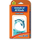 Animals of All Kinds Flash Cards by School Zone Publishing Company Staff