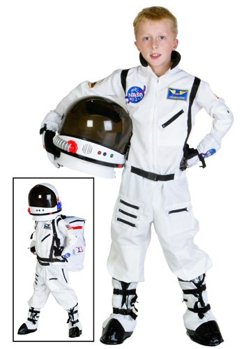 NASA White Astronaut Kids Costume