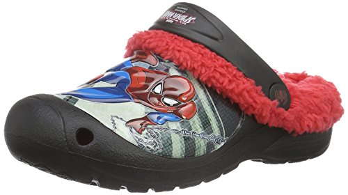 spidermanboys-kids-clog-sandals-and-mules-zuecos-ninos-color-rojo-talla-35