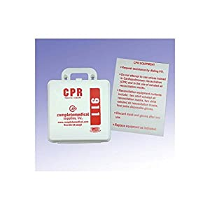 `First Aid Kit-CPR Restaurant ( York State) w/Poster from Complete Medical