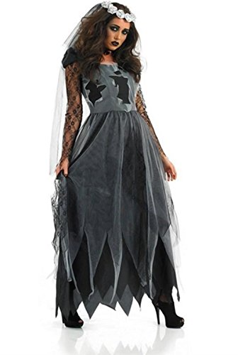 Lady Favorite Halloween Costume Vampire Ghost Bride Zombie Witch Princess Fancy Dress