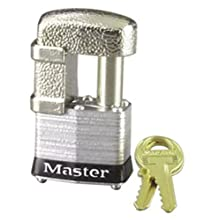 Master Lock 37KA Keyed Alike Armored Trailer Lock with Shackle Guard