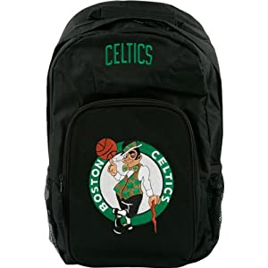 Boston Celtics Black Youth Southpaw Backpack