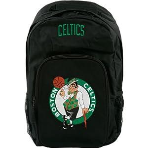 Boston Celtics Black Youth Southpaw Backpack