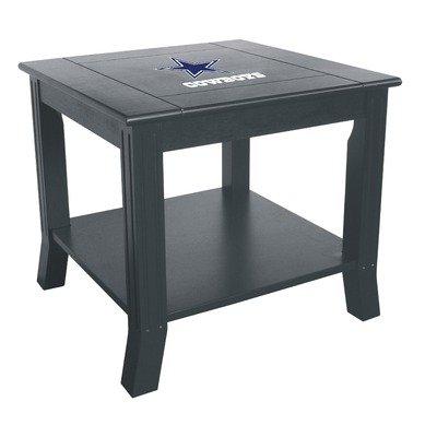 Cowboys coffee table dallas cowboys coffee table cowboys for Football coffee table