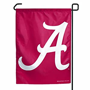 NCAA Alabama Crimson Tide Garden Flag