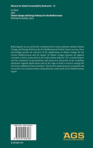 Climate Change and Energy Pathways for the Mediterranean: Workshop Proceedings, Cyprus: Preliminary Entry 1002 (Alliance for Global Sustainability Bookseries)