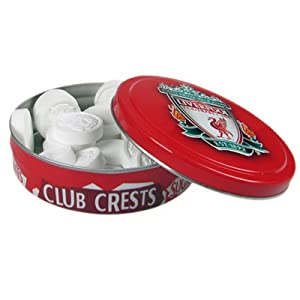 Liverpool Fc Tin Of Mints - Football Gifts from Official Football Merchandise