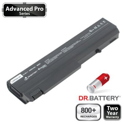 Dr. Battery Advanced Pro Series Laptop / Notebook Battery Replacement for HP 6710b Notebook PC (4400mAh / 48Wh) 800+ Charge Cycles. 2 Year Warranty (Ship From Canada)