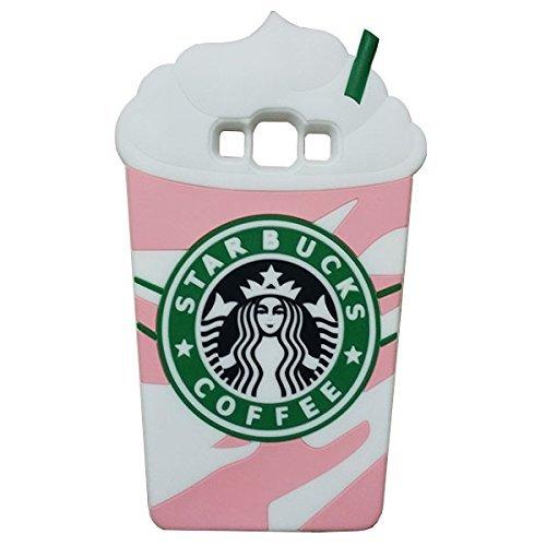 ... Samsung Galaxy J5 J500F Starbucks Rainbow Ice Cream Coffee Cup Pink