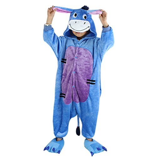 Cute&comfortable Donkey Costumes for Children Homewear Pajama