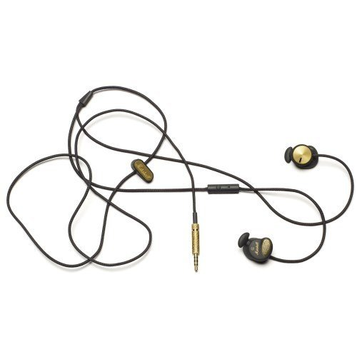 Marshall Headphones The Marshall Minor Headphone In Black And Gold,Headphones For Unisex, One Size,Black & Gold