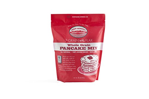 Wheat Montana - 7-Grain Pancake Mix with Flax Seed - 4 pack - 2lb bags