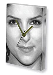 ANNA KENDRICK - Canvas Clock (LARGE A3 - Signed by the Artist) #js004