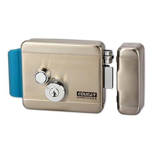 Yuhan electric electronic door lock dc 12v for doorbell for 12v dc door bell