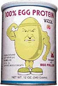 Vitol Egg Protein 100% Vanilla Powder (12 oz)