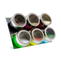 PT Spice Cans Magnetic Stainless Steel Coloured Set
