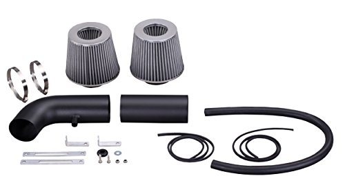 AF Dynamic Air Filter intake for F150 F-150 Bronco 88-95 5.0/5.8 V8 +Heat Shield (1990 Ford F150 Air Intake compare prices)