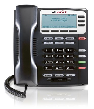 Allworx 9204g voip phone top office shop for Best home office voip service