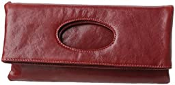 Latico  Molly 5515 Clutch Handbag,Red,One Size