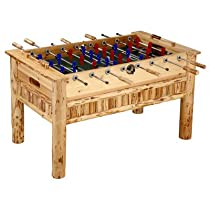 Hot Sale Rush Creek Log Cabin Style Soccer Table