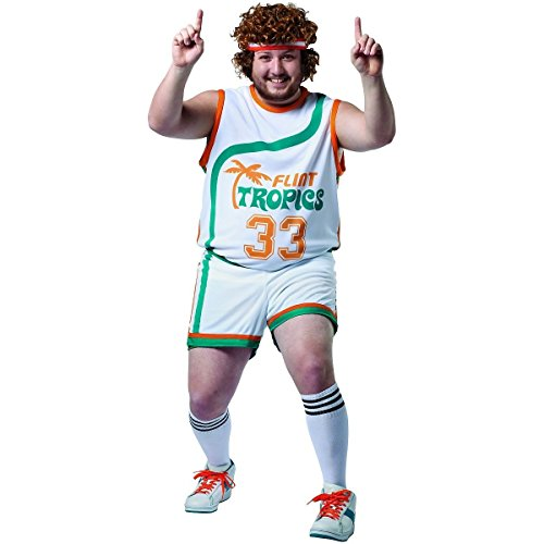 GSG Jackie Moon Costume Adult Semi-Pro Halloween Fancy Dress (Jackie Moon Halloween Costume)