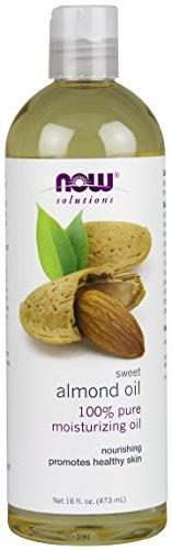 NOW solutions Sweet Almond Oil, Moisturizing Oil, 16 ounce