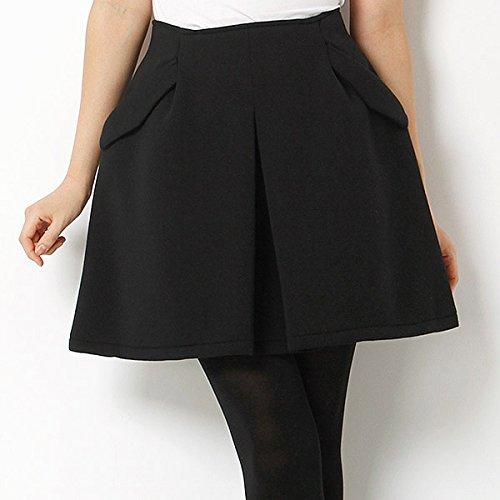 ムルーア(MURUA) スカート(タックデザインワイドミニSK)【M09ブラック/2(M)】