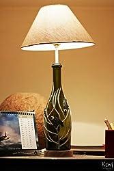 Kavi Birdie Glass Lamp - (Multicolor)